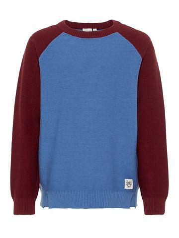 Mehrfarbiger пуловер