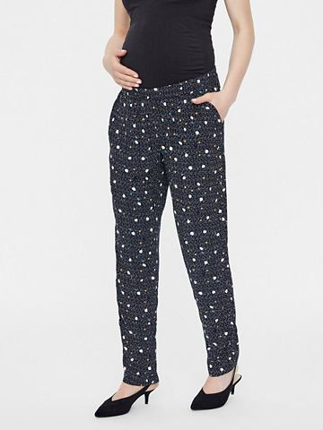 Gepunktete брюки для беременных