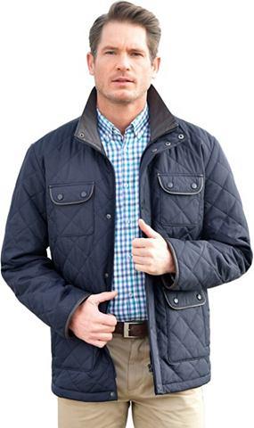 Куртка длинная с воротник стойка
