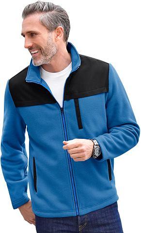 CATAMARAN Флисовая куртка с воротник стойка