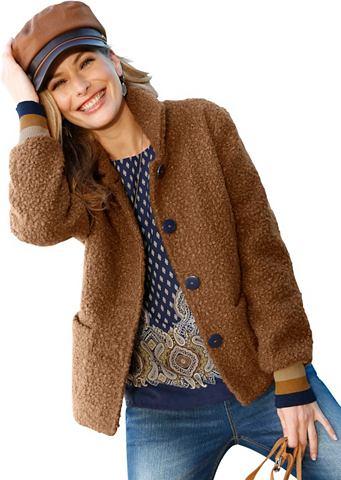 CLASSIC INSPIRATIONEN Куртка из мягкий Bouclé