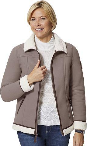Флисовая куртка с воротник стойка