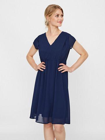 С коротким рукавом платье для кормлени...
