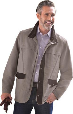 Куртка длинная с Kontrastdetails