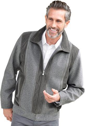 Куртка с doppeltem Umlegekragen