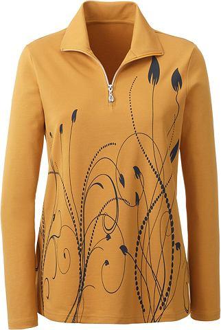 Блузка в красивый platziertem дизайн
