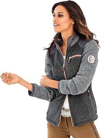 CLASSIC INSPIRATIONEN Флисовая куртка в модный сочетание мат...