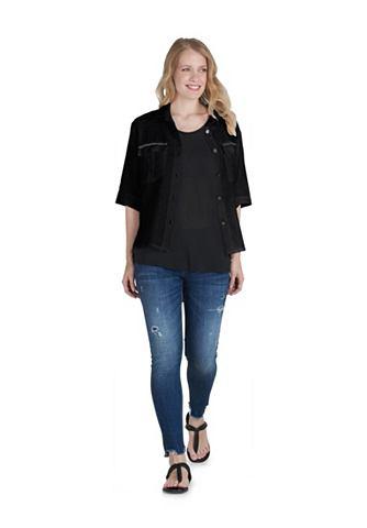 PUBLIC Блузка с aufgesetzten карман