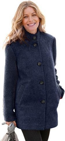 Куртка в flauschig мягкий Melange-Qual...