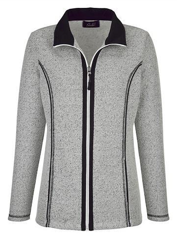 PAOLA Спортивный свитер в Strick-Optik
