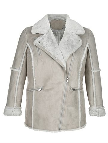 MIAMODA Куртка в Lammfell-Optik