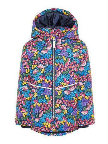 NAME IT Цветочным узором куртка зимняя