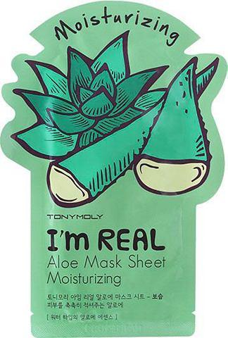 "TONYMOLY Tuchmaske ""I'm Real Aloe"""