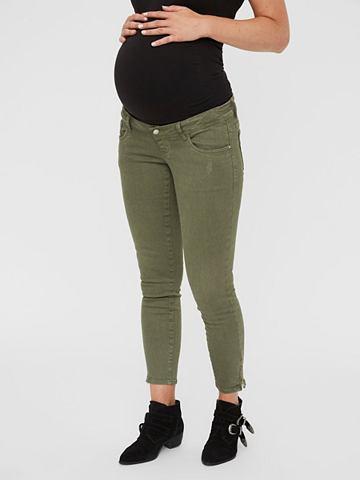 Farbige 7/8 джинсы для беременных