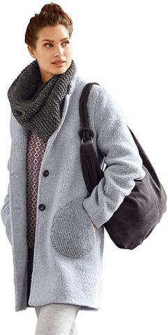 Пальто короткое в сдержанный Strick-Op...