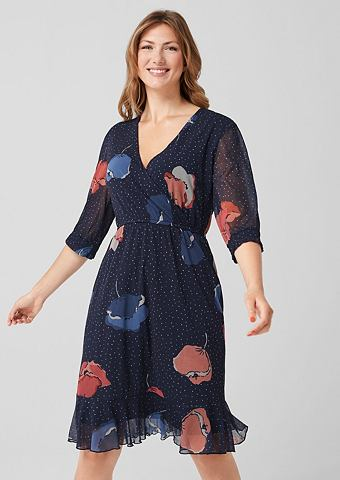 Платье миди-длины