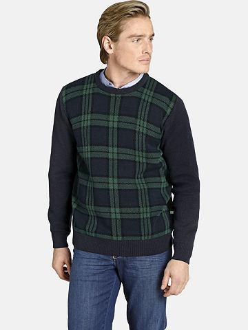 CHARLES COLBY Пуловер с круглым вырезом »EARL ...