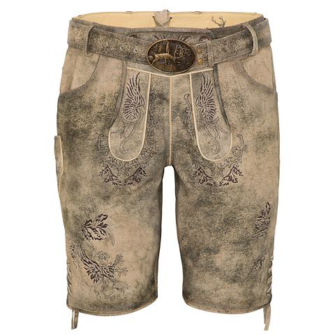 Spieth & Wensky брюки кожаные &quo...