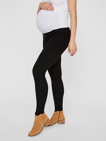 Узкий форма леггинсы для беременных