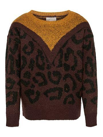 Detailreiches трикотажный пуловер