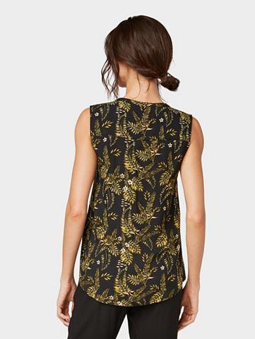 Блузка-топ Блузка с Palmen-Print«...