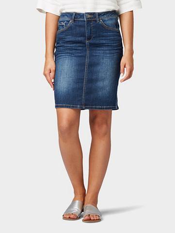 Юбка джинсовая джинсовая юбка с c боку...
