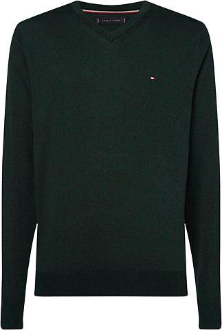 TOMMY HILFIGER Пуловер с V-образным вырезом »OR...