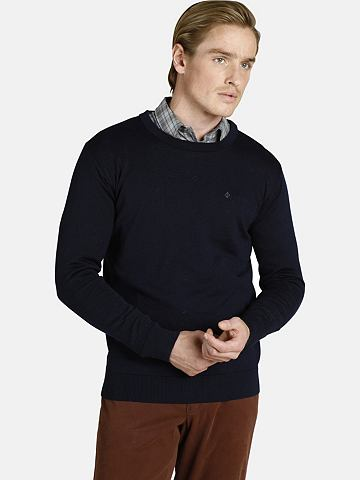 CHARLES COLBY Пуловер с круглым вырезом »DUKE ...