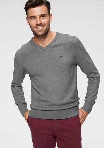 Пуловер с V-образным вырезом »PI...