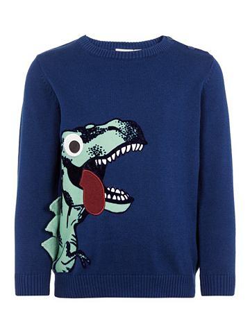 Dinosaurier аппликация пуловер