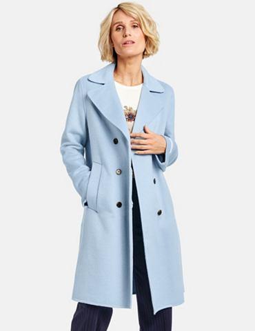 GERRY WEBER Пальто Wolle »Langer пальто с Wo...