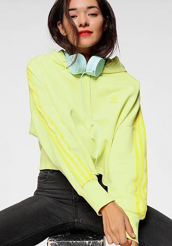 ADIDAS ORIGINALS Кофта с капюшоном »CROPPED блузо...