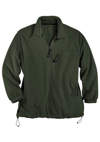 Куртка флисовая мужская с с кулиской