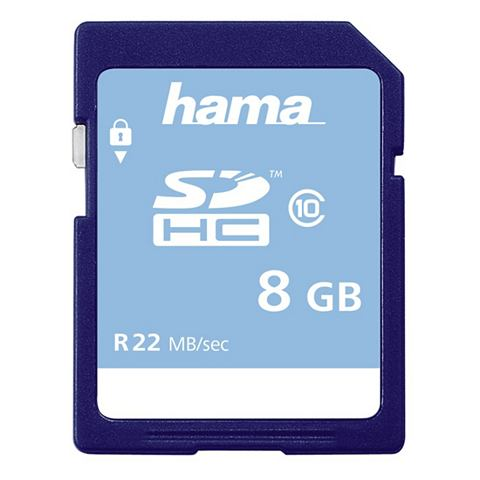 Speicherkarte SDHC 8GB Class 10 &raquo...