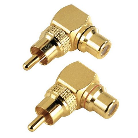 Audio-Adapter Cinch-Anschluss-Set 90
