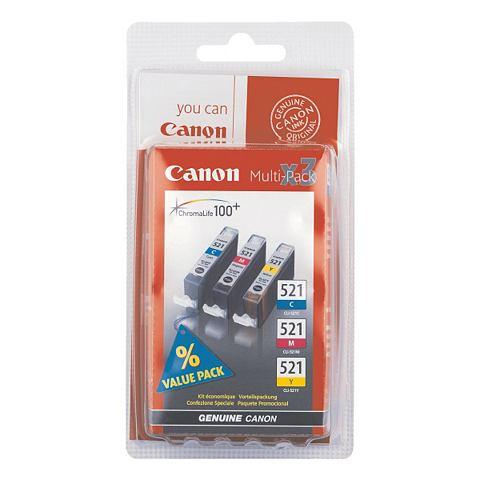Tintenpatronen-set »CLI-521 CMY&...