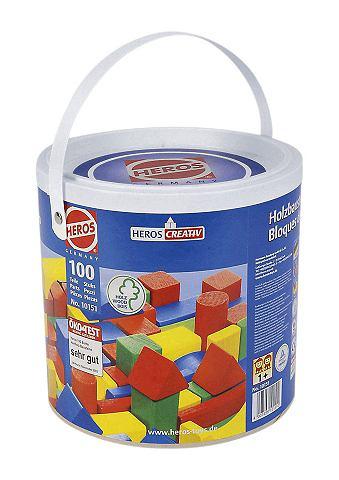 EICHHORN Комплект деревянных кубиков (100tlg.)