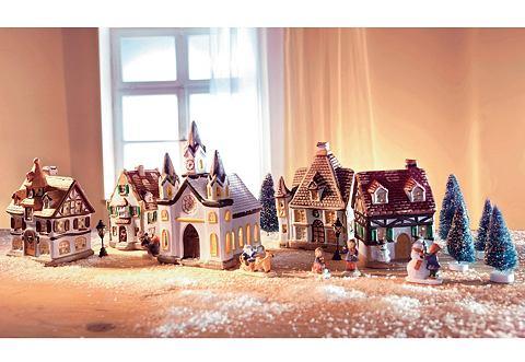 Комплект: Фарфорная праздничная декора...