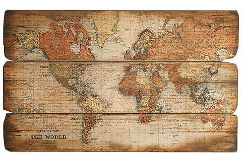 Картина Weltkarte