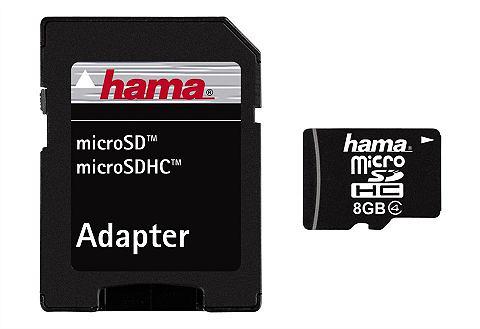 Speicherkarte micro SDHC 8GB Class 4 &...