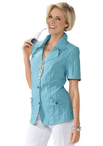 Рубашка-куртка в с мятым эффектом