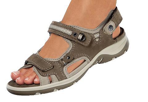 Туфли на удобной подошве сандалии с мя...