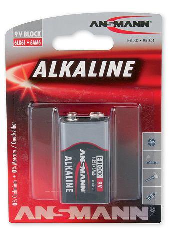 9V-Batterie »Alkaline«