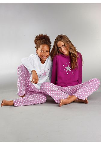PETITE FLEUR Mädchen пижама (2 единицы unsere ...