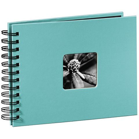 Spiralalbum 24 x 17 cm 50 Seiten Fotob...