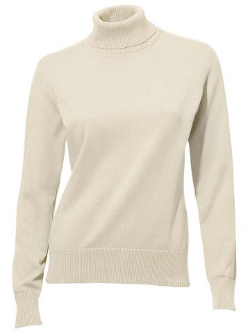 Пуловер с Rippenbündchen