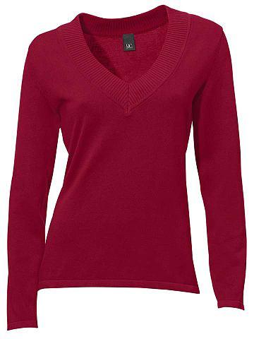 Пуловер с V-образным вырезом в taillie...