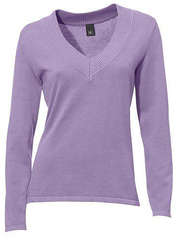 Пуловер с V-образным вырезом в tnailli...