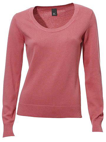 Пуловер с круглым вырезом с Rippenb&uu...
