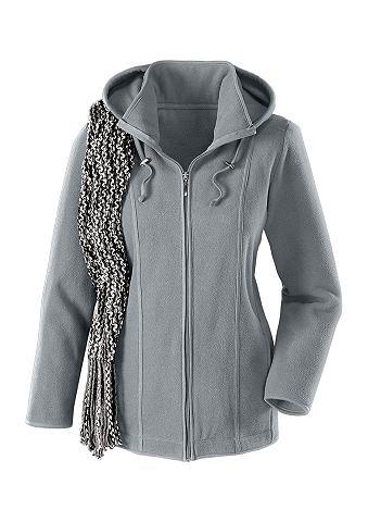 Флисовая куртка с съемный капюшон